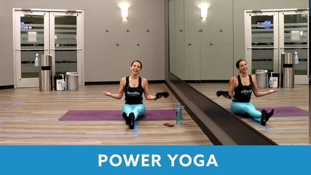 Power Yoga with Nina (LIVE Tuesday 4/...