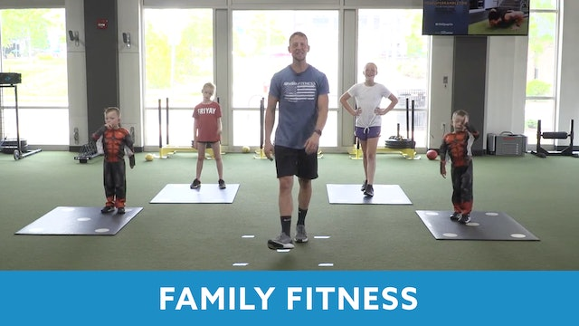 Family Fitness #2 with Kris