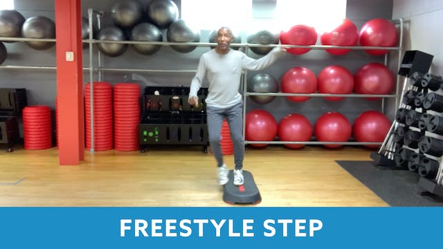 Freestyle Step with Garry (LIVE Frida...