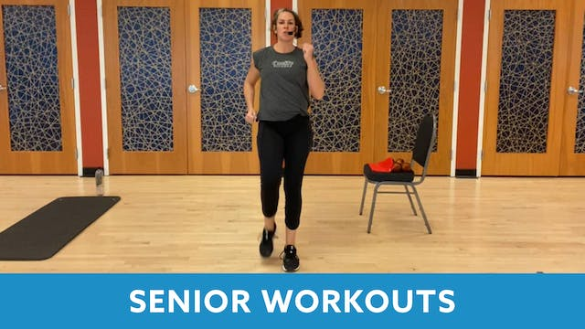 Senior Fitness with Juli (LIVE Monday...