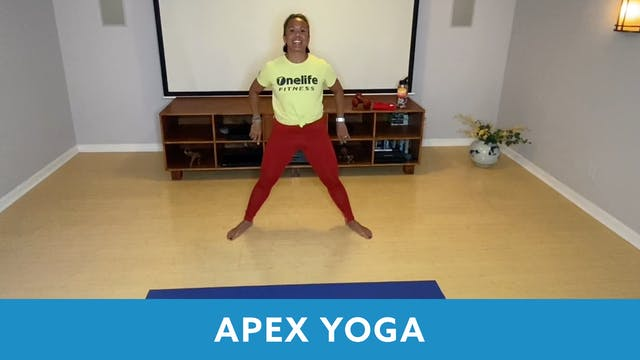 APEX YOGA #17 with JoJo  (LIVE Thursd...