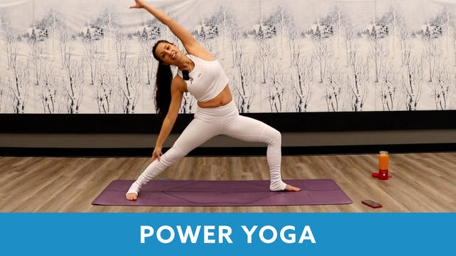 Power Yoga with Nina (LIVE Tuesday 1/...