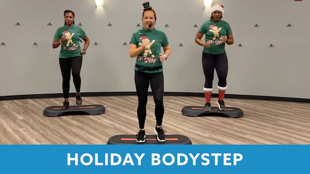 Christmas BODYSTEP with Regina (30 MIN)