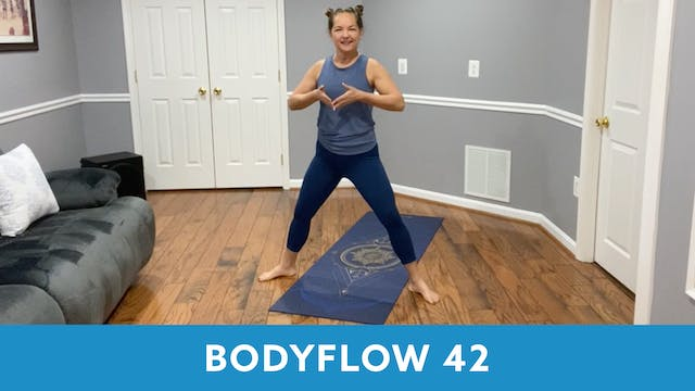 BODYFLOW 42 with Regina (LIVE Tuesday...