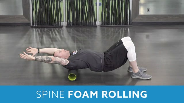 Thoracic Spine Foam Rolling with Aaron
