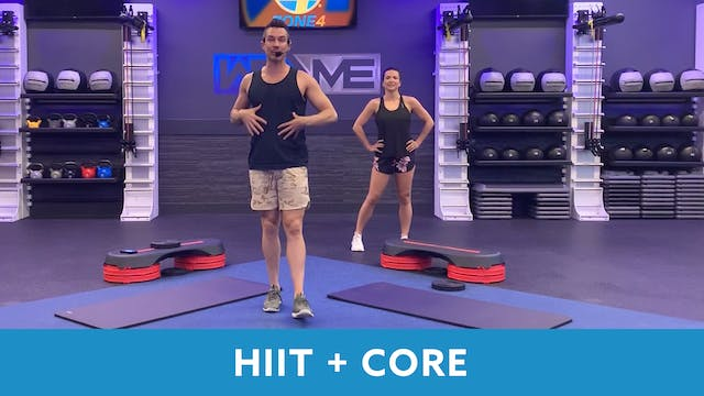 HIIT+Core with Josh