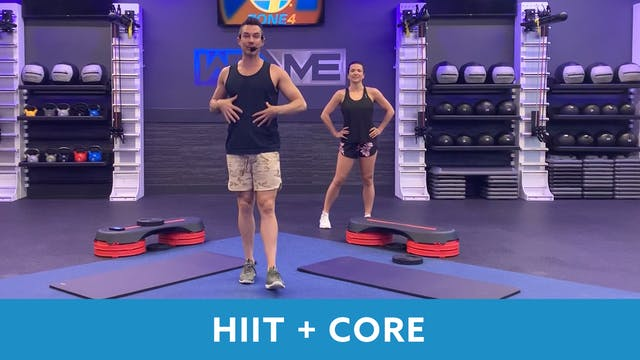 TONE UP 21 WEEK 7- HIIT+Core with Josh