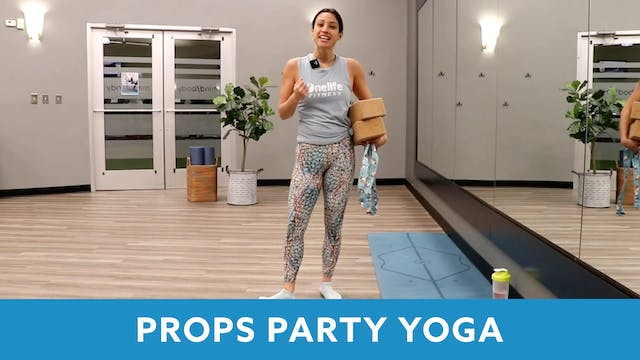 Props Party Yoga with Nina (LIVE Tues...
