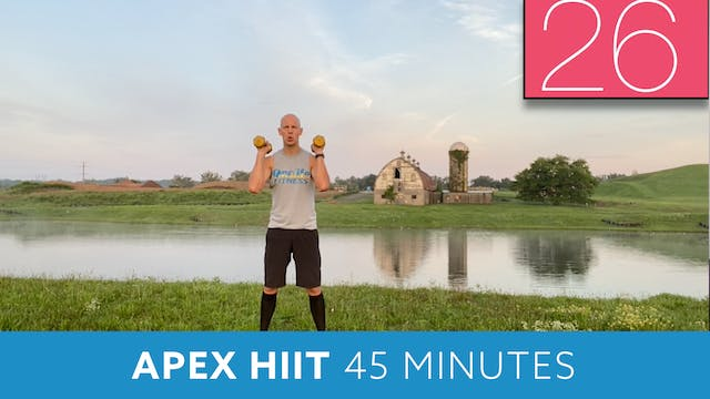 APEX HIIT #60 with Bob (LIVE Friday 8...