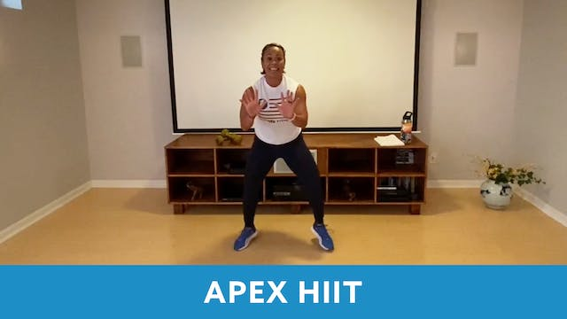 APEX HIIT #43 with JoJo (LIVE Wednesd...