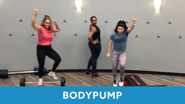 BODYPUMP with Sam (LIVE Friday 2/26 @...