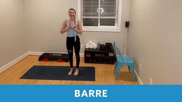 14 Day Challenge Day 8 - Barre with Carli