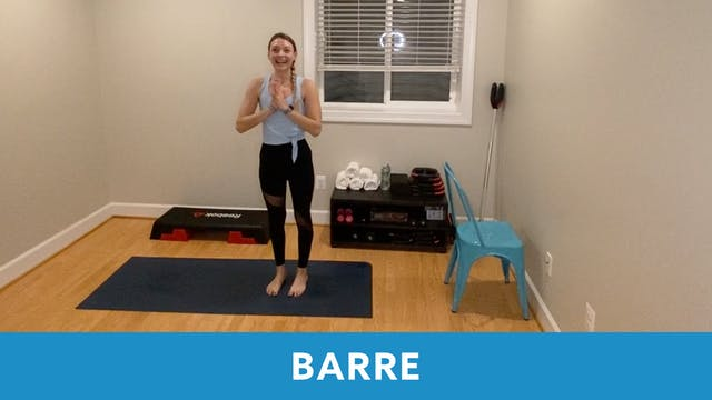 14 Day Challenge Day 8 - Barre with C...