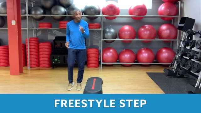 Freestyle Step with Garry (LIVE Thurs...
