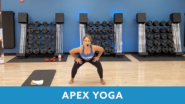 14Day Challenge Day 10 - APEX YOGA #2 with JoJo