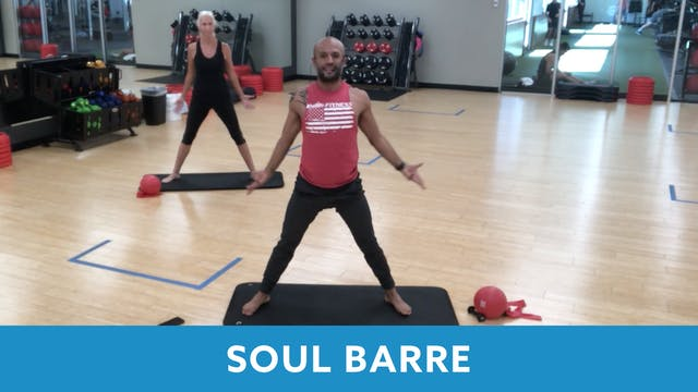 SoulBody Barre with Tomas