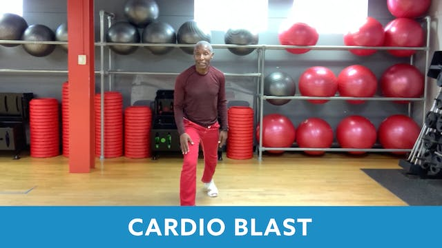 Cardio Blast with Garry (LIVE Wednesd...