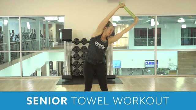 Senior Fitness Towel Workout with Juli