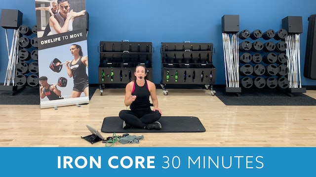 Iron Core with Allison - OCTOBER