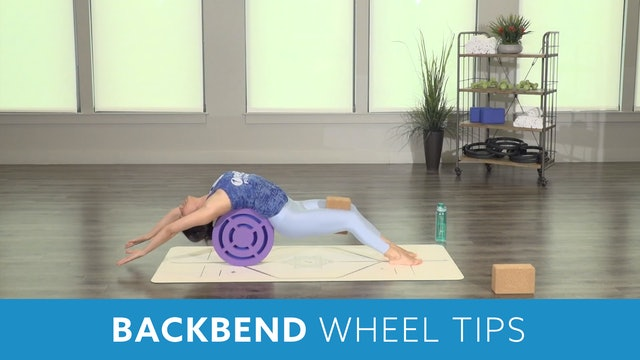 Backbend Wheel Tips with Nina
