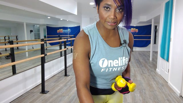 Cardio Barre with Shahana (LIVE Tuesd...