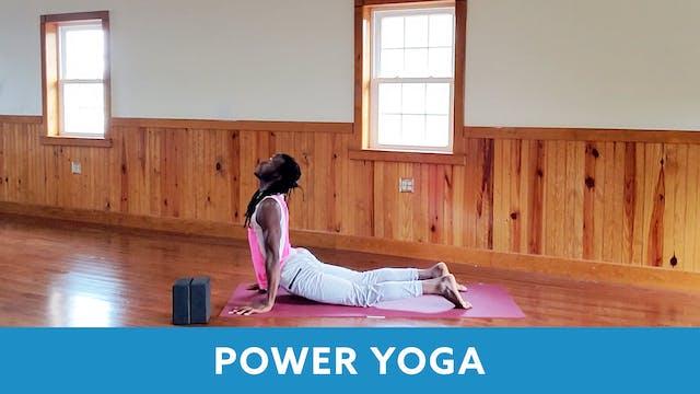 Power Yoga with Marlon (LIVE Tuesday ...