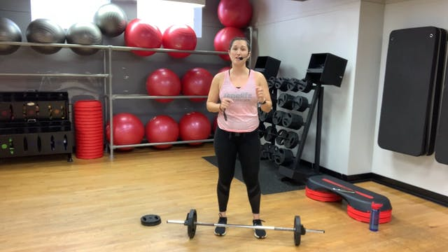 BODYPUMP with Nathalia (LIVE Thursday...