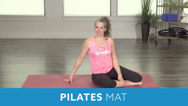 Pilates Mat Series - Teaser 1,2,3 and swimming with Juli