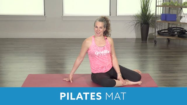 Pilates Mat Series - Teaser 1,2,3 and...