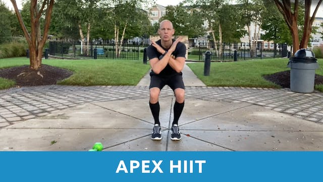APEX HIIT #33 with Bob (LIVE Friday 1...