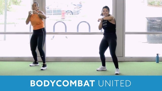 Transformation Challenge - (Week 5 Workout 3) BODYCOMBAT UNITED with Mary
