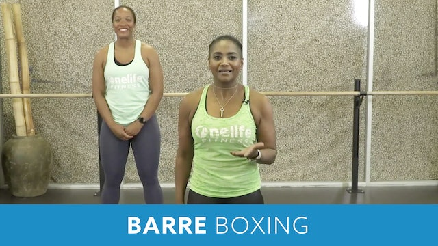 14Day Challenge Day 1 -  Boxing Barre with Shahana