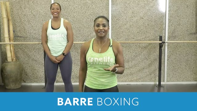 14Day Challenge Day 1 -  Boxing Barre...