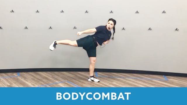 BODYCOMBAT with Mary (Monday 2/22 @ 1...