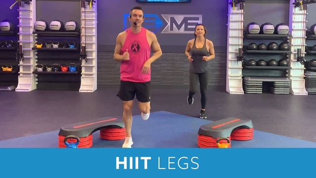 HIIT and Legs with Josh #2