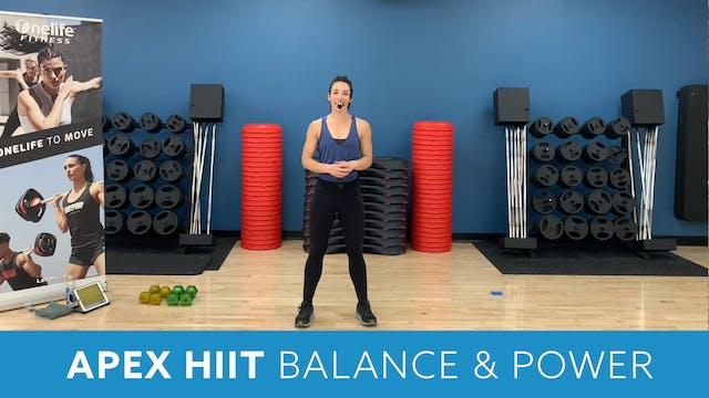APEX HIIT Balance & Power with Alliso...