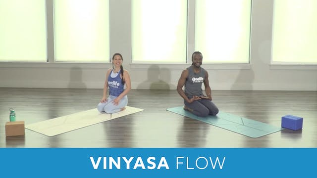 TONE UP 21 WEEK 4 - Vinyasa Flow with...