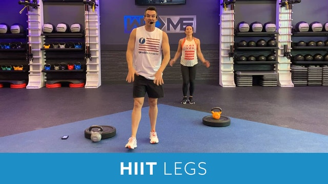 HIIT and Legs with Josh #3