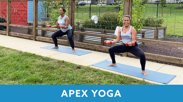 14Day Challenge Day 2 - APEX YOGA #12 with JoJo