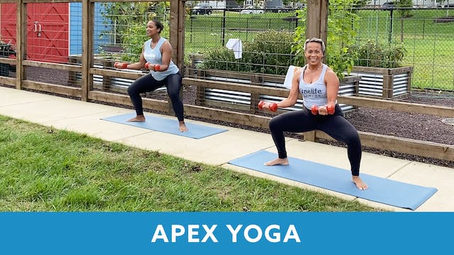 APEX YOGA #12 with JoJo
