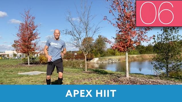 APEX HIIT #54 with Bob (LIVE Monday 11/2 @ 7am EST)