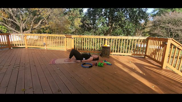 Pilates Mat with Morgan (LIVE Monday ...