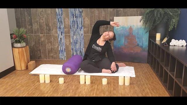 45 Min Yin Yoga with Morgan (LIVE Wed...