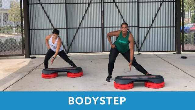 TONE UP 21 WEEK 3 - BODYSTEP with Sam