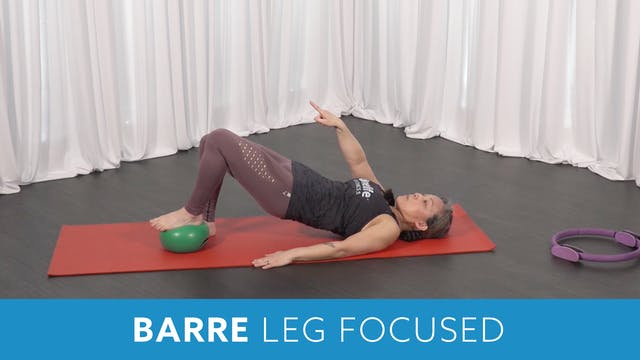 Barre Leg Focused with Miho