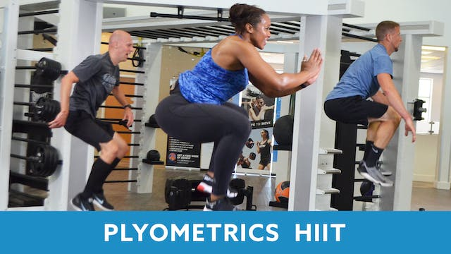 Day 2 - Advanced Part 1 - Plyo HIIT w...