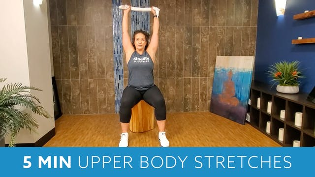 5 Min Upper Body Stretch with Morgan