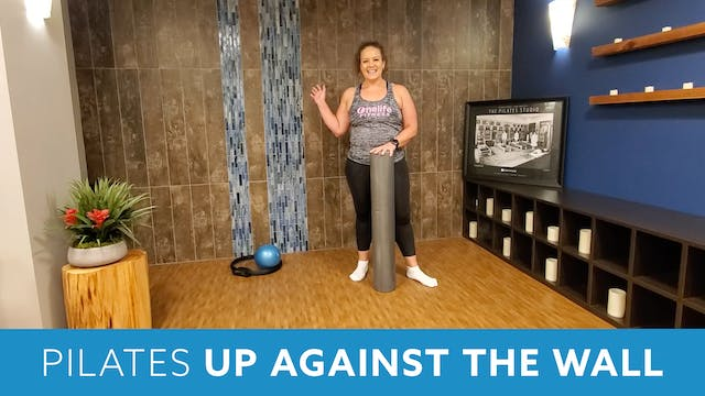 30 min Pilates Up Against the Wall wi...