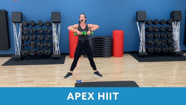 TONE IT UP WEEK 5 - APEX HIIT with Allison