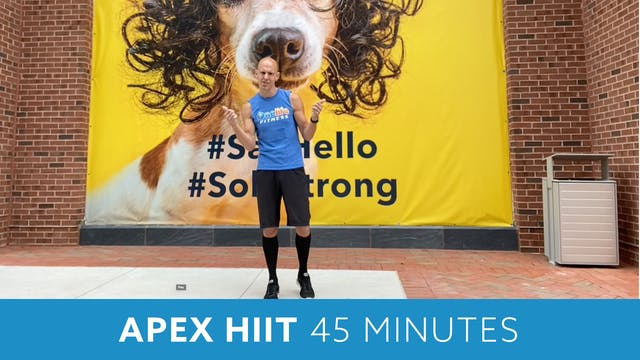 APEX HIIT #24 with Bob (LIVE Monday 9...